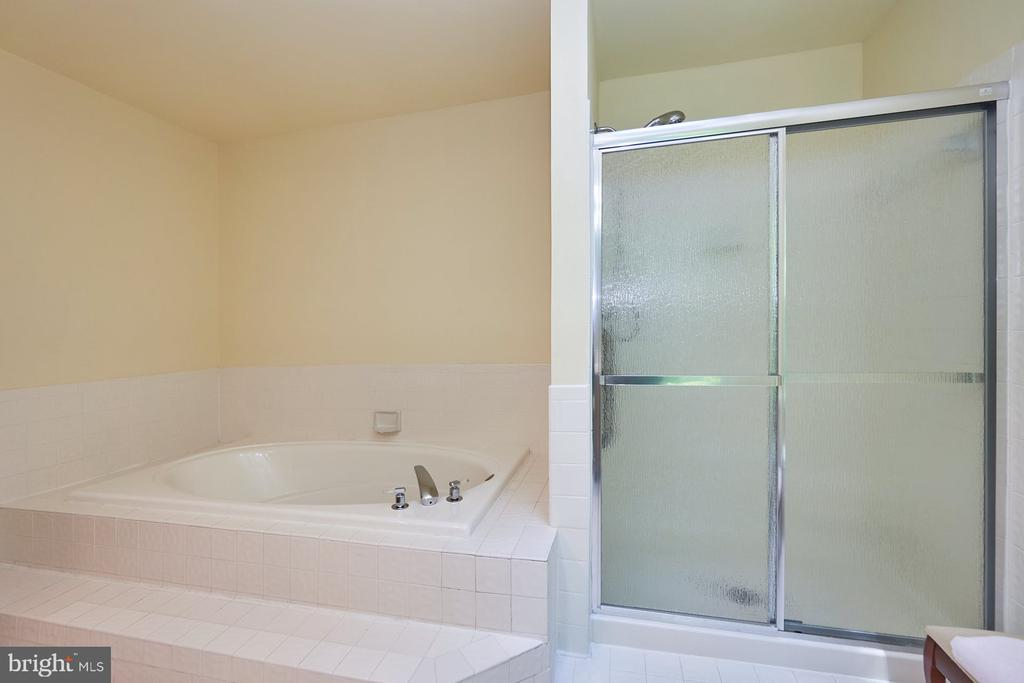 Separate tub and shower - 10824 HENDERSON RD, FAIRFAX STATION