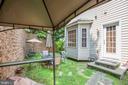 Private back yard - 2110 CAROLINE ST, FREDERICKSBURG
