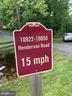 Marker for Entrance to Private Road - 10824 HENDERSON RD, FAIRFAX STATION