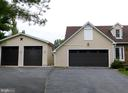 Here you can see the attached and detached garages - 102 CHRISTOPHER CT, CHARLES TOWN