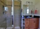 Walk-in Shower - 102 CHRISTOPHER CT, CHARLES TOWN