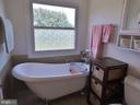 Claw foot tub - 102 CHRISTOPHER CT, CHARLES TOWN