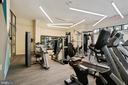 Residents' Gym on Floor 1 - 989 S BUCHANAN ST #421, ARLINGTON