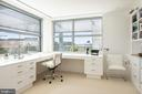 The upper level office suite has distant views - 1177 22ND ST NW #9G, WASHINGTON