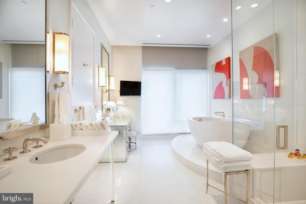The guest suite spa bath - 1177 22ND ST NW #9G, WASHINGTON