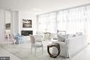 Interiors by AD100 Designer, William Hodgins - 1177 22ND ST NW #9G, WASHINGTON