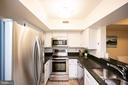Open and bright kitchen - 2400 CLARENDON BLVD #301, ARLINGTON