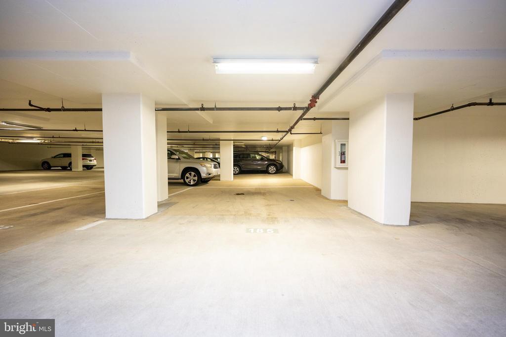 Extra wide parking space #185 - 2400 CLARENDON BLVD #301, ARLINGTON