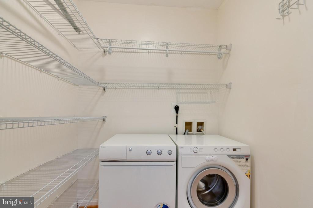 Laundry room - 7333 NEW HAMPSHIRE AVE #317, TAKOMA PARK