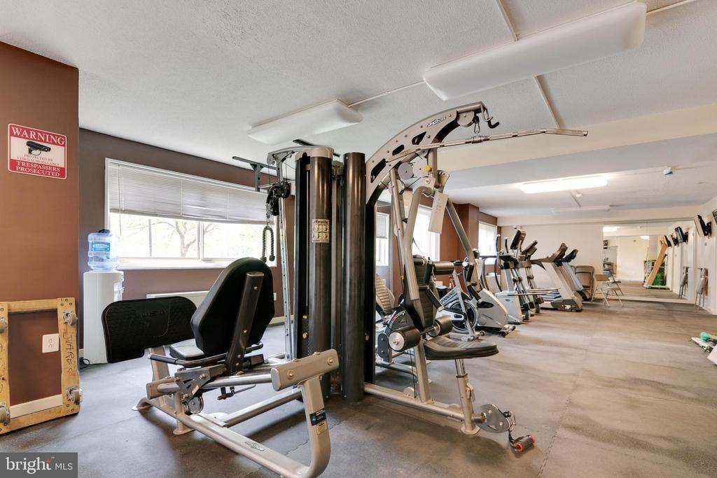 Fitness Center - 7333 NEW HAMPSHIRE AVE #317, TAKOMA PARK