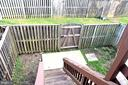 Another view of Patio from Main Floor - 3636 MCDOWELL CT, DUMFRIES