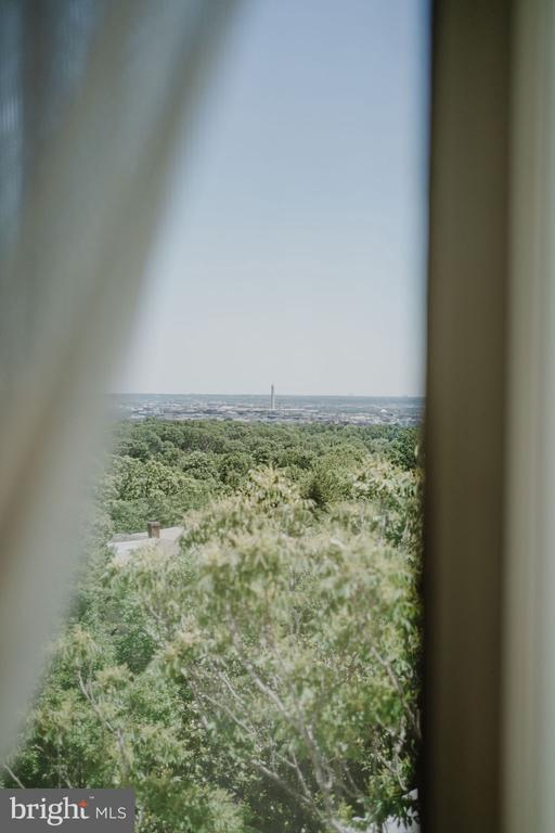 Views of the Washington Monument from living room! - 2720 WISCONSIN AVE NW #703, WASHINGTON