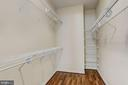 Owner's Suite   Walk-In Closet - 9702 WOODFIELD CT, NEW MARKET