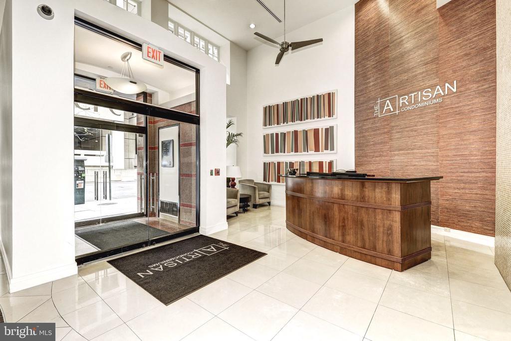 Artisan Front Building Entrance - 915 E ST NW #914, WASHINGTON