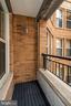 Custom finished Balcony - 915 E ST NW #914, WASHINGTON