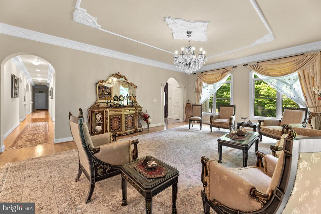 Living Room - 11536 MANORSTONE LN, COLUMBIA