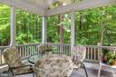 Great screened-in porch - 1114 HEARTFIELDS DR, SILVER SPRING