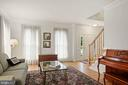 tall windows and oak flooring - 1114 HEARTFIELDS DR, SILVER SPRING