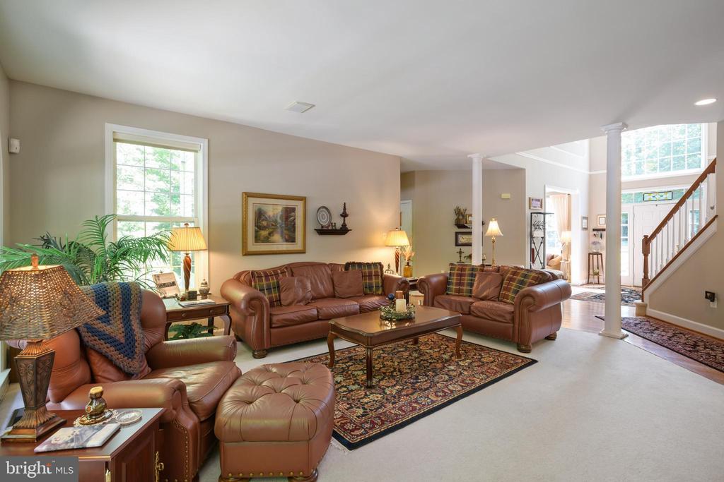 Great Room - 6191 TREYWOOD LN, MANASSAS