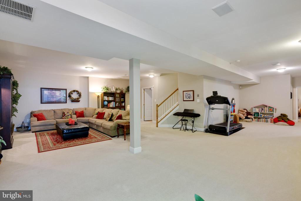 Lower Level Rec Room - 6191 TREYWOOD LN, MANASSAS