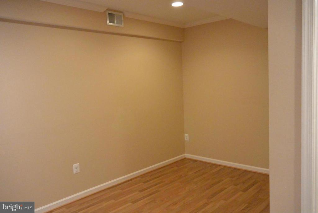 Basement with recessed lighting - 38 HUNTING CREEK LN, STAFFORD