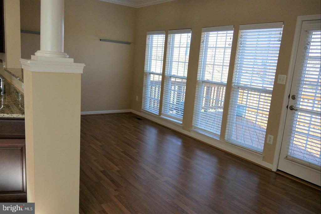 Dining room to Walkout Deck - 38 HUNTING CREEK LN, STAFFORD