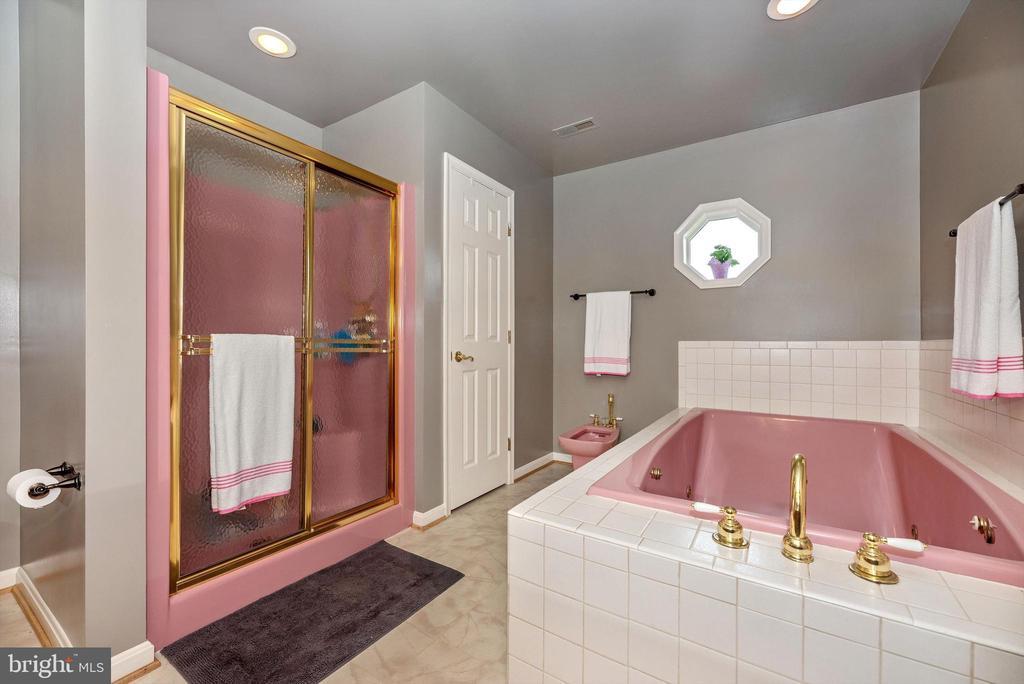 Master bath - 7319 EYLERS VALLEY FLINT RD, THURMONT
