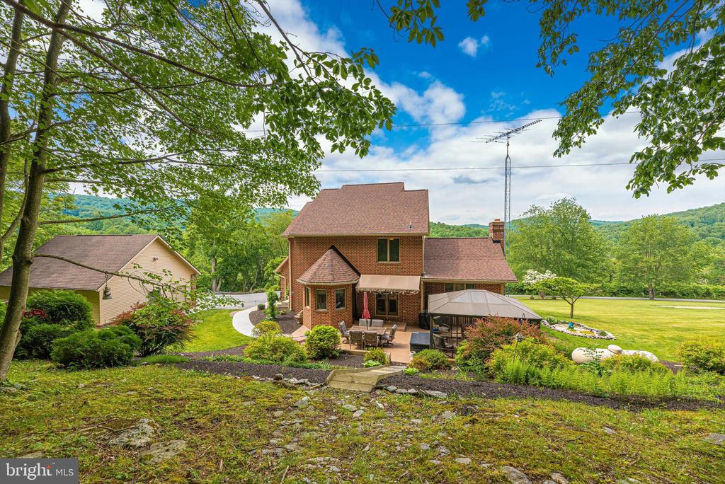 From the treed back - 7319 EYLERS VALLEY FLINT RD, THURMONT