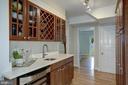 Kitchen has extra large butler pantry / wine bar - 8622 GARFIELD ST, BETHESDA