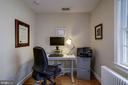 BR 3 off owner's wing is perfect for office - 8622 GARFIELD ST, BETHESDA