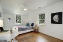 BR5 has modern ceiling fan - 8622 GARFIELD ST, BETHESDA
