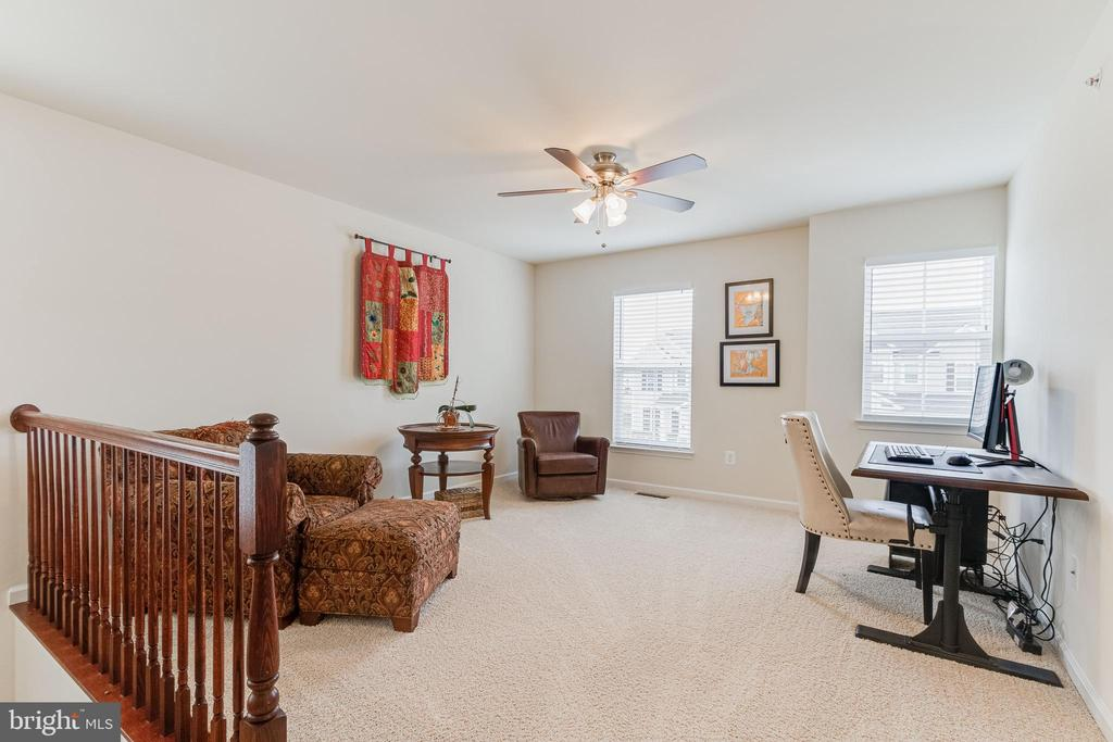 Upper level loft area - great for relaxing - 3513 DOC BERLIN DR, SILVER SPRING