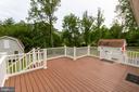 Party Size deck - 15605 KELBAUGH RD, THURMONT