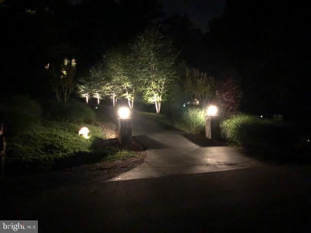 Walkway at Night - 6191 TREYWOOD LN, MANASSAS