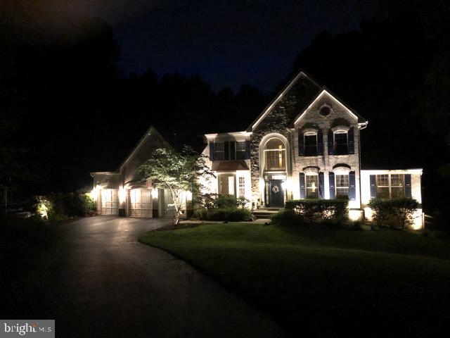 Front of Home at Night - 6191 TREYWOOD LN, MANASSAS