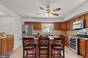 Stunning, fully renovated kitchen! - 2915 MONROE PL, FALLS CHURCH