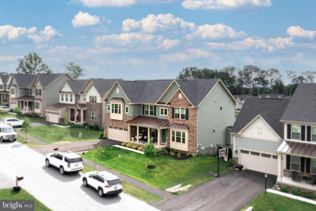 Aerial View of Front Exterior - 6877 WOODRIDGE RD, NEW MARKET
