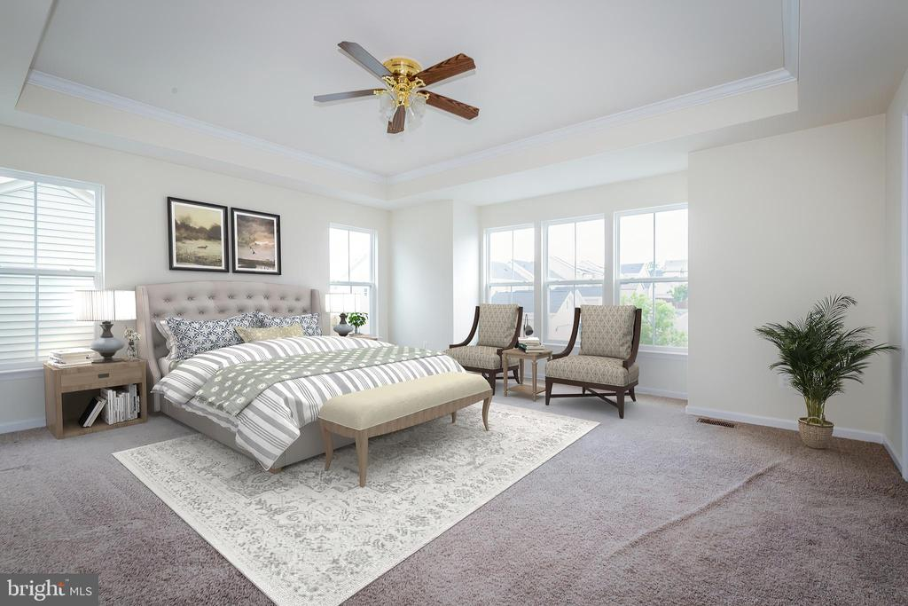 Virtually staged owners' suite - 502 APRICOT ST, STAFFORD