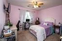 Bedroom 3 with walk in clolset - 53 CARRIAGE HILL DR, FREDERICKSBURG