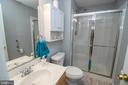 Full Bath in Basement - 53 CARRIAGE HILL DR, FREDERICKSBURG