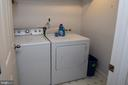 Second laundry in Basement - 53 CARRIAGE HILL DR, FREDERICKSBURG