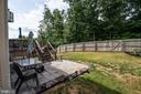 Fully fenced yard - 53 CARRIAGE HILL DR, FREDERICKSBURG