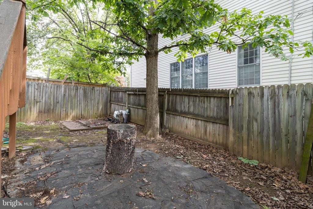 Backyard patio - 1701 N RANDOLPH ST, ARLINGTON
