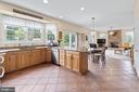 Kitchen open to living area - 200 AUTUMN SKY TER, WOODSBORO