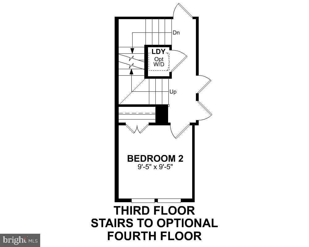 Third Level Floor Plan (Options) - 1234 MEADOWLARK GLEN RD, DUMFRIES