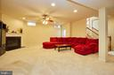 Family Room w/Gas Fireplace - 504 PAGE ST, BERRYVILLE