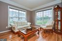 Beautiful Crown Molding in Living Room - 504 PAGE ST, BERRYVILLE