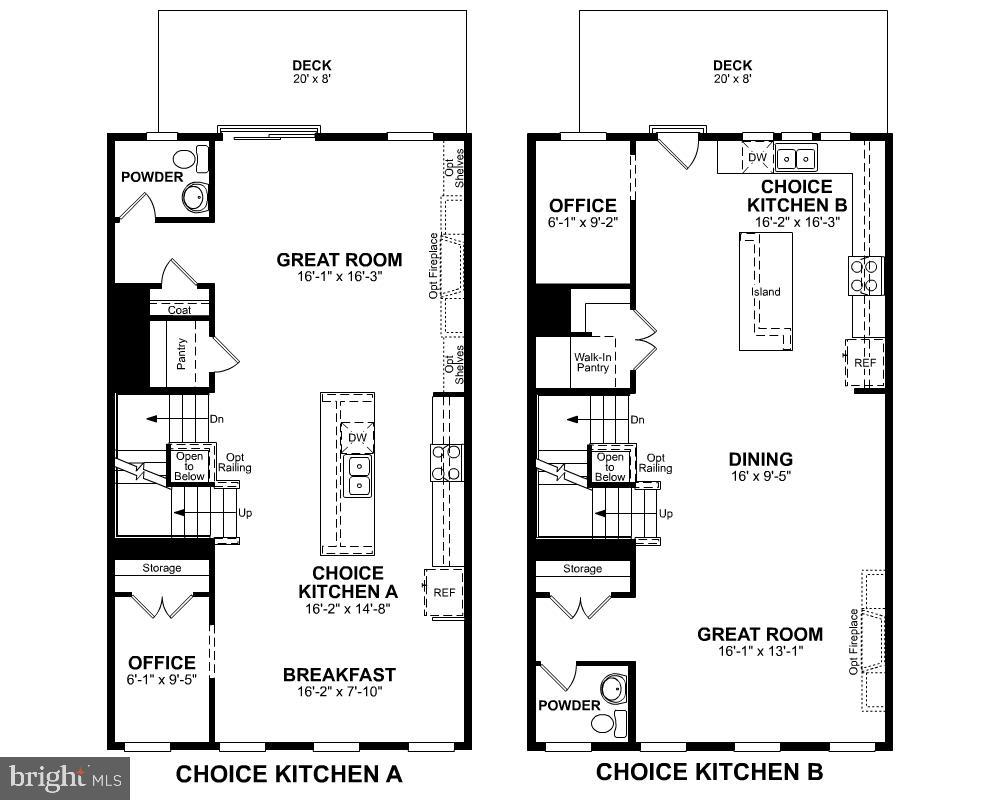Second Level Floor Plan (Choices) - 2345 MEADOWLARK GLEN RD, DUMFRIES