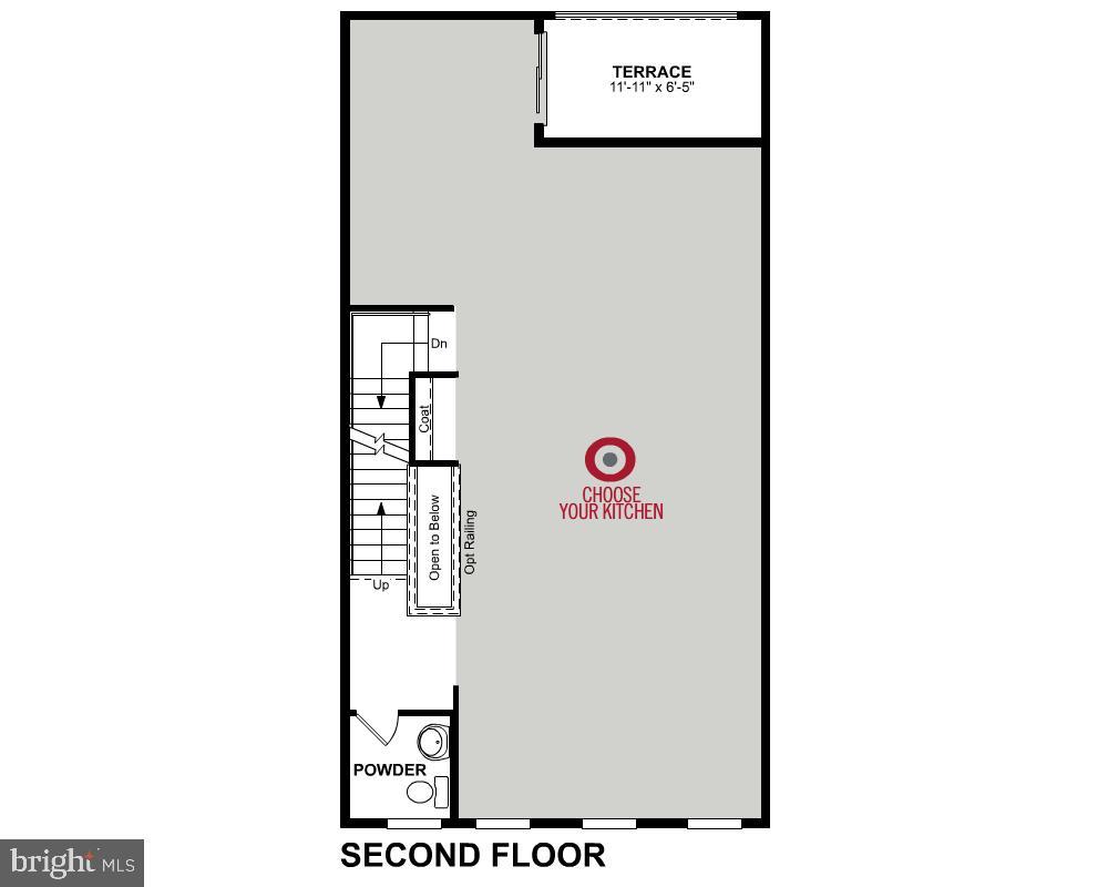 Second Level Floor Plan - 3456 MEADOWLARK GLEN RD, DUMFRIES