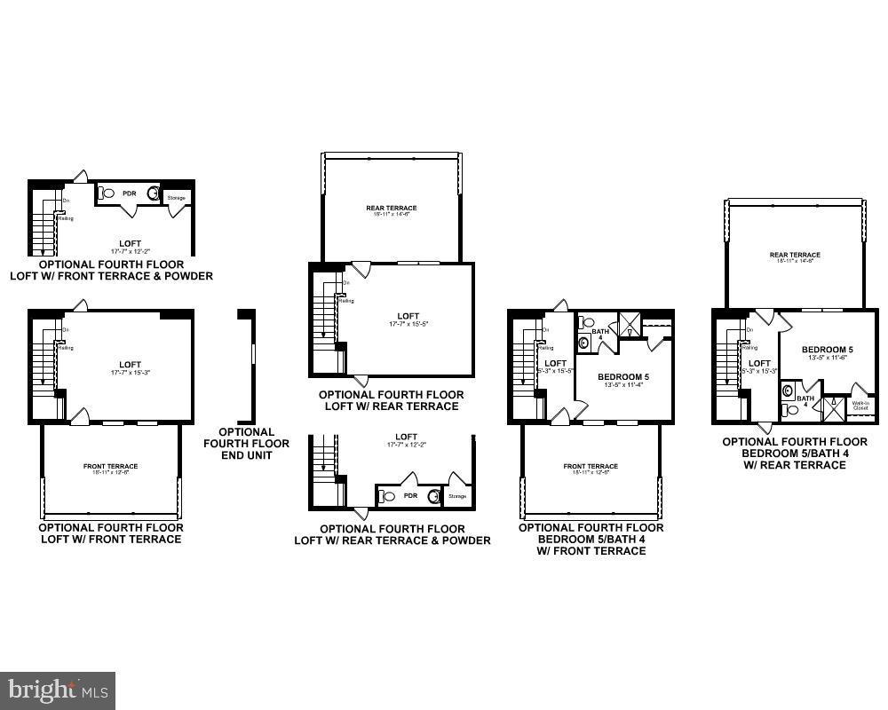 Fourth Level Floor Plan - 3456 MEADOWLARK GLEN RD, DUMFRIES